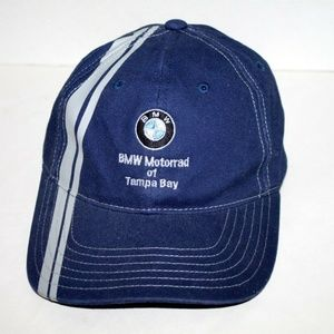 BMW Motorrad Baseball Hat Cap Blue Strapback